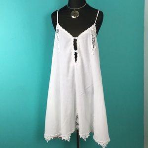 Volcom Gauzy Rayon embroidered Aline dress